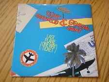 "CLINT EASTWOOD & GENERAL SAINT - LAST PLANE      7"" VINYL PS"