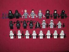 LEGO Star Wars minifigures LOT Sidius,Darth Vader,Tie Fighter,Stormtroopers +