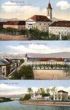 9432/ Foto AK, Theresienstadt, 3-Ansichten, ca. 1910