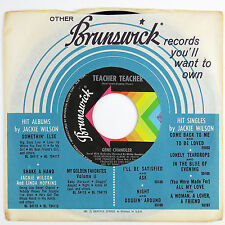 GENE CHANDLER Teacher Teacher 7IN (1968) CHICAGO SOUL NM-