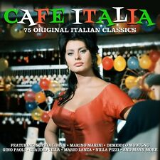 Cafe Italia 75 ORIGINAL ITALIAN CLASSICS Various Artists BEST OF Music NEW 3 CD
