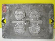 IOWA STATE UNIVERSITY VEISHEA ISU CYCLONE METAL PRESS STAMP/PLATE EMBOSSING DIE