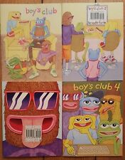 Matt Furie's Boys Club Comics 1-4 Complete Pepe Frog Feels Good Man Buenaventura