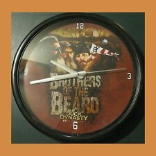 "Duck Dynasty Brothers of the Beard 12"" Black Clock Battery Memory Company A&E"