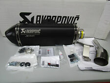 Slip-on Muffler Black EXHAUST AKRAPOVIC YAMAHA X-MAX 125