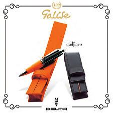 Delta Pen Markiaro Astuccio porta penna o stilografica, singolo in pelle nero