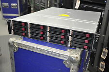 HP StorageWorks EVA M6412A AG638B FC Drive Storage Enclosure w/ 12x 450GB 15K HD