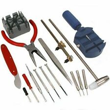 16 Pcs PC Watch Repair Set Kit Pin Strap Band Remover Opener Battery Change Tool