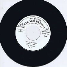 LITTLE RICHARD - GET RICH QUICK / THINKIN' ' (Fantastic Early ROCKER) Rockabilly