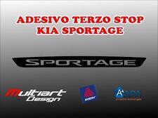 ADESIVO STICKERS PER TERZO STOP KIA SPORTAGE 2016
