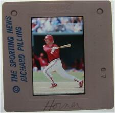 BOB HORNER ST LOUIS CARDINALS ATLANTA BRAVES Yakult Swallows ORIGINAL SLIDE 11