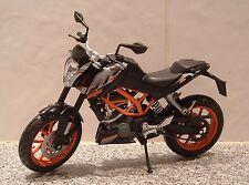 1:12 KTM 390 DUKE DUAL SPORT MODEL SUPERB DETAIL FANTASTIC ORANGE BLACK