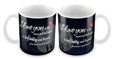 I Love You To The Moon And Back Again Novelty Mug