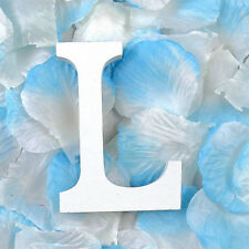 Wood Wooden Letter L Plaques Bridal Wedding Party Home Alphabet Word Signs Decor