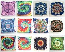 wholesale 10pcs tie dye mandala cushion cover pillow cases cheap