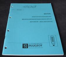 Werkstatthandbuch Peugeot 406 Kraftstoffversorgung Bosch MP3.2F Einspritzung RGX
