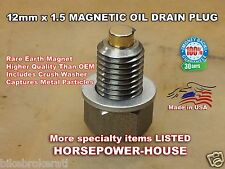 12mm MAGNETIC OIL DRAIN PLUG BOLT YAMAHA OLDER YZ125 YZ426F WR426F YZ85 TTR250 +
