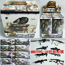 (8pcs/Lot) 1/6 Military Weapons 4D Model Military Gun Picture f Puzzle Boy NO.2