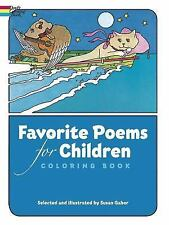 Dover Classic Stories Coloring Book: Favorite Poems for Children Coloring...