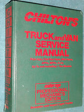 1986-1990 CHEVY JEEP FORD DODGE GMC TOYOTA NISSAN TRUCK & VAN SHOP MANUAL BOOK