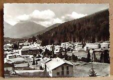 Madonna di Campiglio da Nord (Dolomiti di Brenta) [grande, b/n, viaggiata]