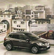 Nissan Qashqai Sound & Style Limited Edition 2008 UK Market Sales Brochure