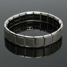 Men Titanium Magnetic Bracelet Silver Bio Therapy Arthritis Health Pain Relief