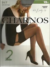 Charnos 24/7 Stockings 15 denier medium -  champagne