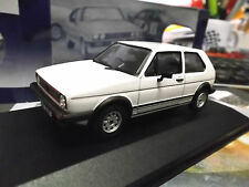 VW Golf GTI MKI Facelift 1982 weiss white 3 Türer RHD Corgi Vanguards 1:43