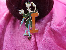Disney Pin Ichabod Crane Alphabet Pin letter I