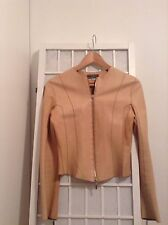 GORGEOUS Joseph Caramel/Camel Leather Jacket SMALL 6