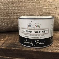 Annie Sloan Wax for Chalk Paint- latest wax finish- tin of each- White and black