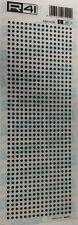 R41 C25L FOGLIO 9 X 25 cm TRASFERIBILI PIAZZOLE 2,54 X 0,79