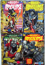 THE RISE OF APOCALYPSE 1,2,3,4 (1-4)...1996...NM-...X-Men Movie!...Bargain Set!