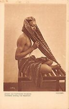 Java Indonesia Javanese Binding His Headcloth Antique Postcard (J32500)
