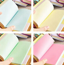 Mini Smiley Diary Notebook Memo Book leather Note Pads Stationery Pocketbook Hot
