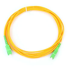 Radio and TV SC/APC-SC/APC fiber patch cord jumper cable,SM,simplex 3m,CATV