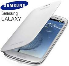 Genuine Samsung Galaxy s3 i9300 ORIGINALE FLIP COVER CASE EFC -1 G 6 FWECSTD | bianco