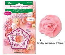 Clover Sweetheart Rose Makers (Medium) #CL8471 Sewing Quilting Notions