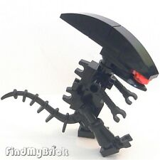 GT11 - Lego Custom Alien Minifigures - Black - NEW