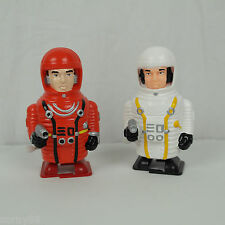 "(2) NEW 90's Comet Toys: Windup 4"" Astronaut: 2001: A Space Odyssey NOS VTG"