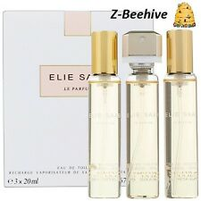 Elie Saab Le Parfum  Eau de Toilette 3 X 0.67 Purse Spray Refills, SEALED Perfum