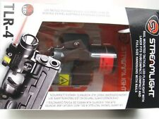 STREAMLIGHT Compact Tactical TLR-4 Gun Rail Mounted LED Flashlight w/ LASER!