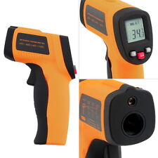 1x Nice Non-Contact LCD IR Laser Infrared Digital Temperature Thermometer Gun FH