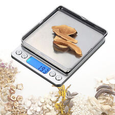 2000g x 0.1g Digital Pocket Gram Electronic Jewelry Weight Food Kitchen Scale