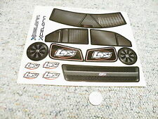 Decals / Stickers R/C radio Controlled LOSI Xcelorin Body Logo  BB6