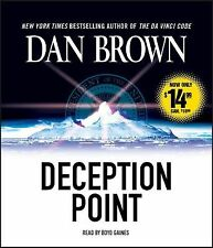 Deception Point by Dan Brown (2010, CD, Abridged)