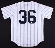 Carlos Beltran Signed Yankees Jersey (JSA COA)