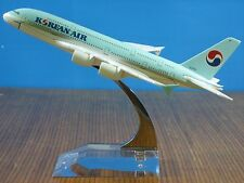 New KOREAN AIR Airbus A380 Passenger Plane Airplane Metal Aircraft Diecast Model