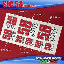 Set n.8 adesivi SIC 58 Simoncelli SIC7